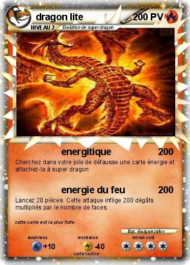 Pok mon dragon lite energitique ma carte pok mon - Carte pokemon dragon ...