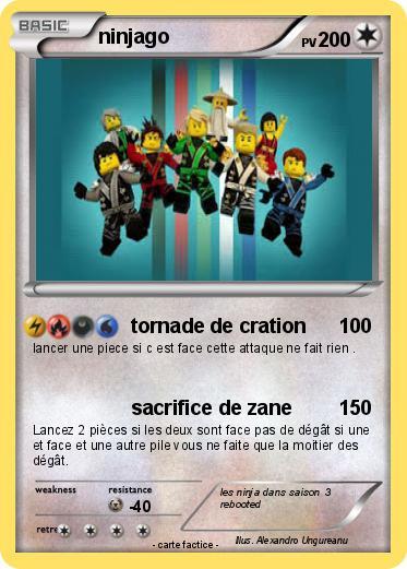 Pok mon ninjago 195 195 tornade de cration ma carte - Ninjago saison 2 ...