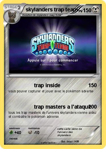 Pok mon skylanders trap team 2 2 trap inside ma carte pok mon - Tous les skylanders ...