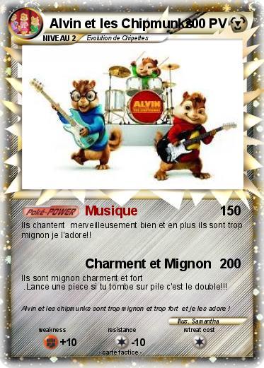 Pokémon Alvin Et Les Chipmunks 12 12