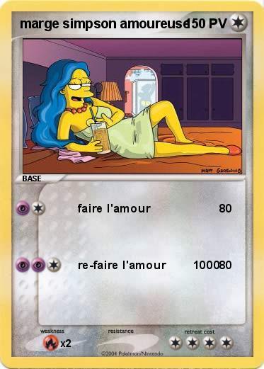Pok mon marge simpson amoureuse 3 3 faire l 39 amour ma - Dessin de faire l amour ...