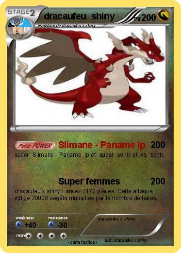 Pok mon dracaufeu shiny 26 26 slimane paname lp ma - Pokemon dracaufeu x ...