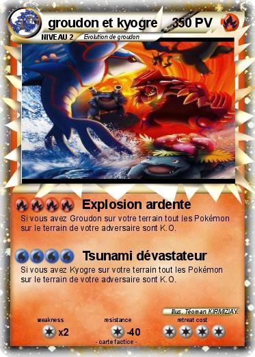 Pokemon Groudon Et Kyogre 2 1