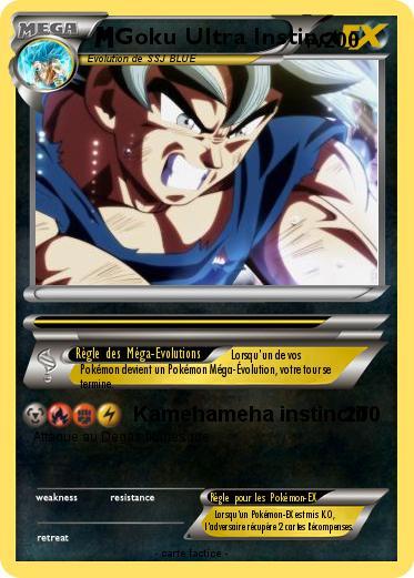 Pokemon Goku Ultra Instinct 8