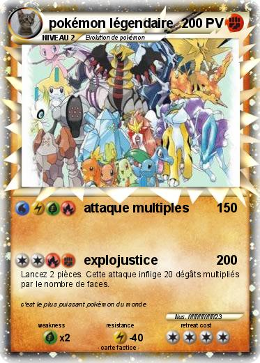 Pok mon pokemon legendaire 54 54 attaque multiples ma - Pokemon y pokemon legendaire ...