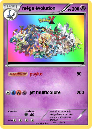 Pok mon mega evolution 21 21 psyko ma carte pok mon - Tenefix evolution ...
