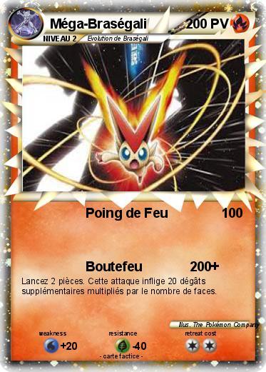 Pok mon mega mewtwo 21 21 poing de feu ma carte pok mon - Coloriage pokemon brasegali ...