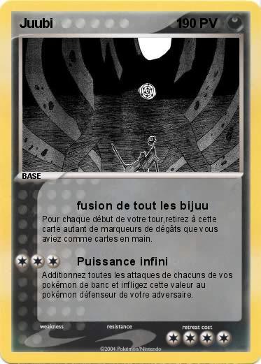 Pok mon juubi 1 1 fusion de tout les bijuu ma carte - Rikudo a imprimer ...