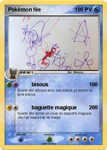 Pok mon pokemon fee bisous ma carte pok mon - Carte pokemon fee ...