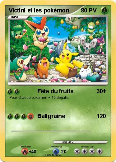 Pokemon Victini Et Les Pokemon