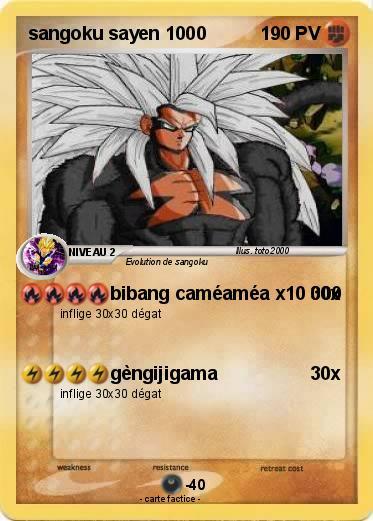 Sangoku sayen 1000 dans Carte Pokemon en autres personnages VuFMWe6ed8KK