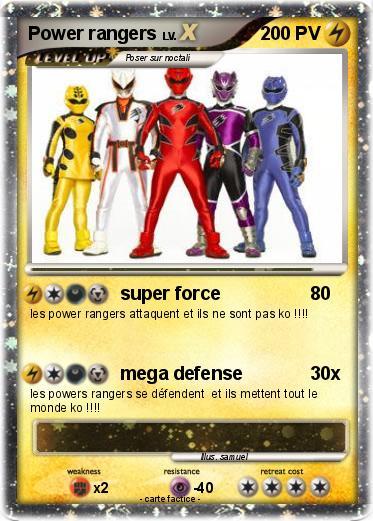 Pokemon Power rangers 22