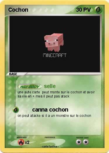Pok mon cochon 297 297 selle ma carte pok mon - Cochon pokemon ...