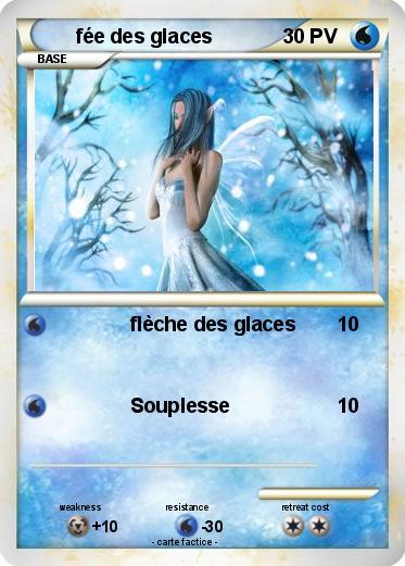 Pok mon fee des glaces fl che des glaces ma carte pok mon - Carte pokemon fee ...