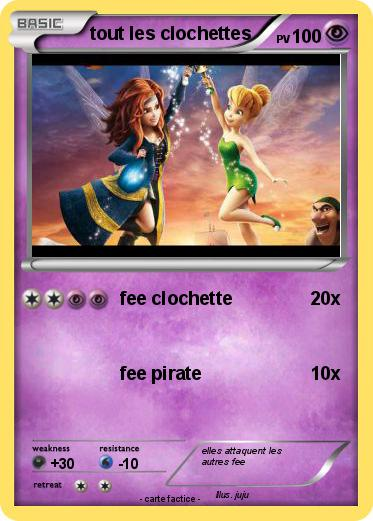 Pok mon tout les clochettes fee clochette ma carte pok mon - Carte pokemon fee ...