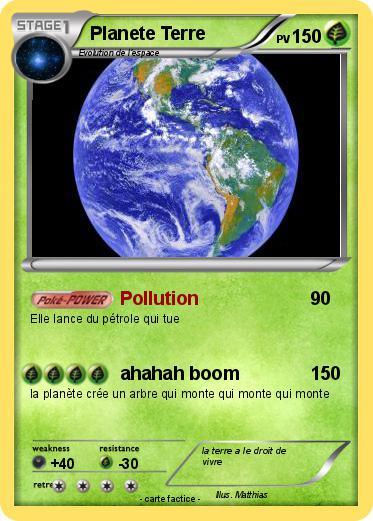 carte d identité de la terre Pokemon Planete Terre 4