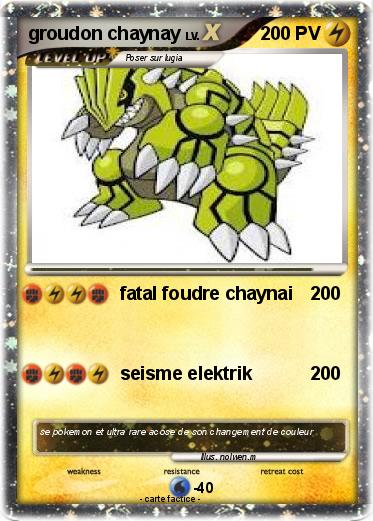 Pokemon Groudon 2520