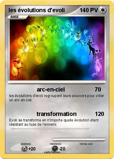 Pokemon Les Evolutions D Evoli