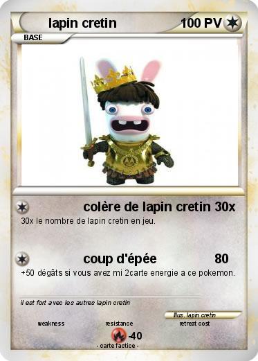 Pok mon lapin cretin 918 918 col re de lapin cretin ma - Lapin cretin a imprimer ...