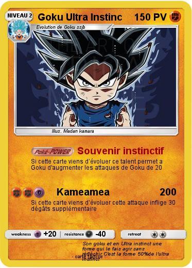 Pokemon Goku Ultra Instinc