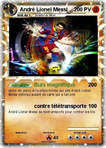 Pokemon Andre Lionel Messi