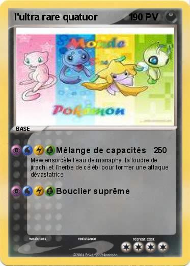 Carte pokemon ex ultra rare acheter trouvez le meilleur - Les pokemon rare ...