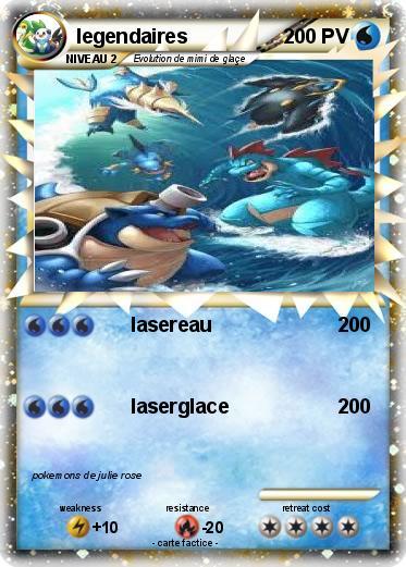Pok mon legendaires 31 31 lasereau ma carte pok mon - Pokemon legendaire ...
