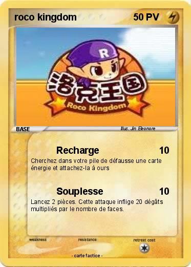 Pokemon Roco Kingdom