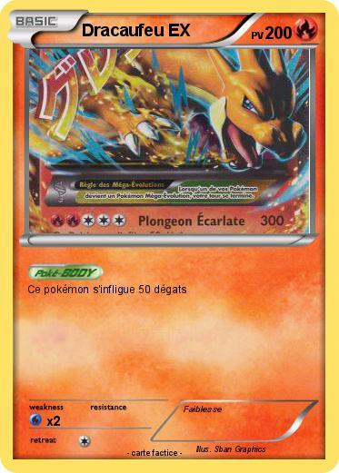 Pok mon dracaufeu ex 190 190 ma carte pok mon - Pokemon dracaufeu ex ...