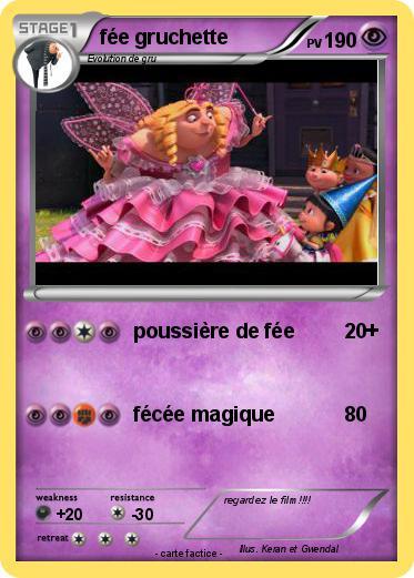 Pok mon fee gruchette poussi re de f e ma carte pok mon - Carte pokemon fee ...