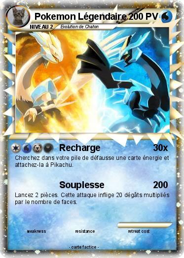 Carte pok mon l gendaire - Pokemon legendaire blanc 2 ...