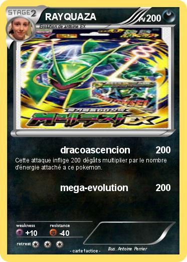 Pok mon rayquaza 7786 7786 dracoascencion ma carte pok mon - Carte pokemon rayquaza ...