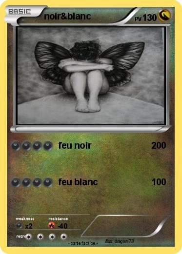 Pok mon noir blanc 13 13 feu noir ma carte pok mon - Pierre feu pokemon noir ...