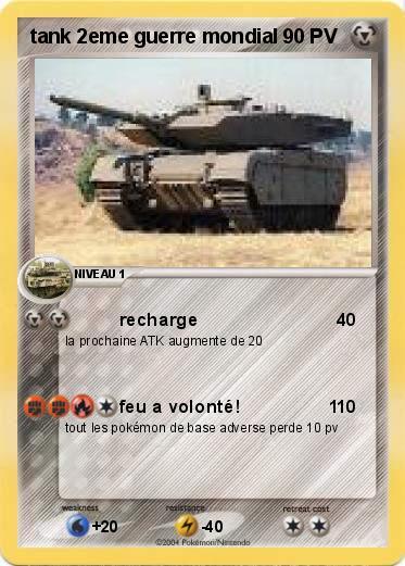Pokémon tank 2eme...