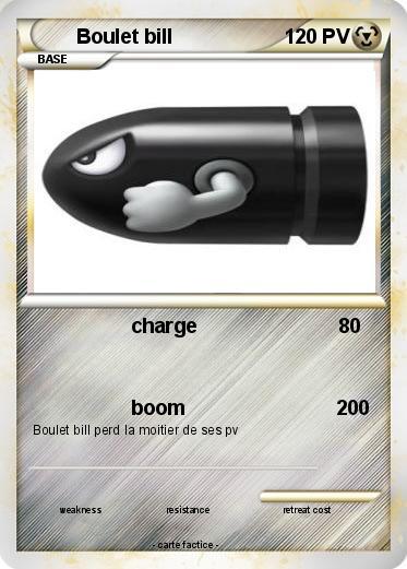 Boulet Bill (de Mario kart Wii) dans Carte Pokemon en autres personnages hKpLqTxx6W