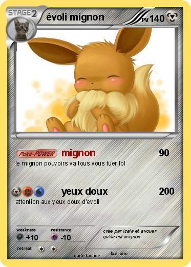 Pokemon Evoli Mignon 1