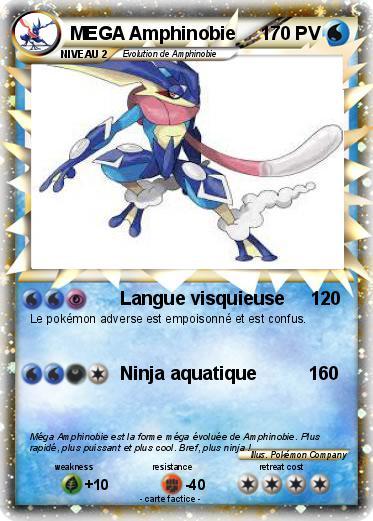 Pokemon Mega Amphinobie 1