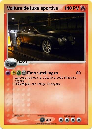 Pok mon voiture de luxe sportive embouteillages ma - Dessin de voiture de luxe ...
