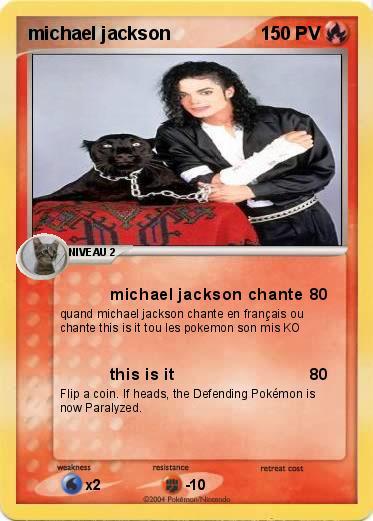 Pok mon michael jackson 126 126 michael jackson chante ma carte pok mon - Coloriage michael jackson ...
