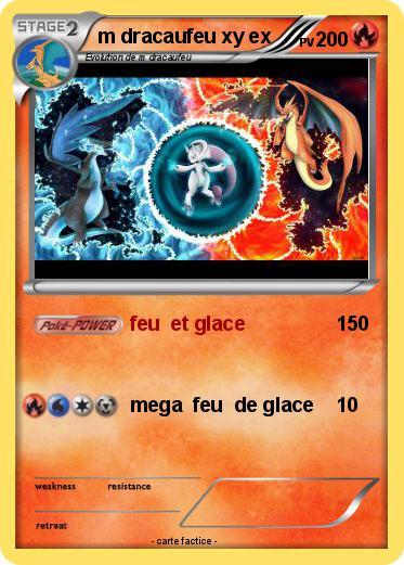Pok mon m dracaufeu xy ex feu et glace ma carte pok mon - Pokemon dracaufeu ex ...