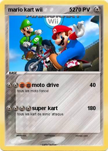 Pok mon mario kart wii 52 52 moto drive ma carte pok mon - Tous les personnages mario kart wii ...