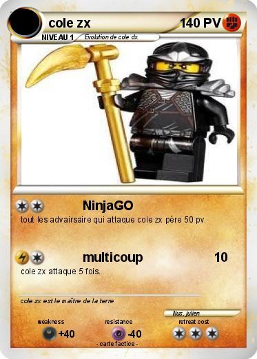 Pok mon cole zx 19 19 ninjago ma carte pok mon - Carte ninjago ...