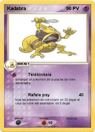 Pokemon Kadabra 8