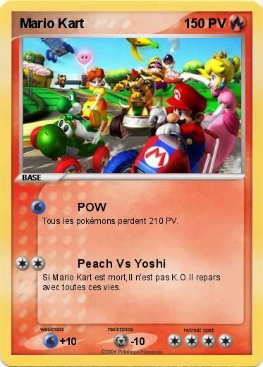 Pok mon mario kart 46 46 pow ma carte pok mon - Tous les personnages mario kart wii ...