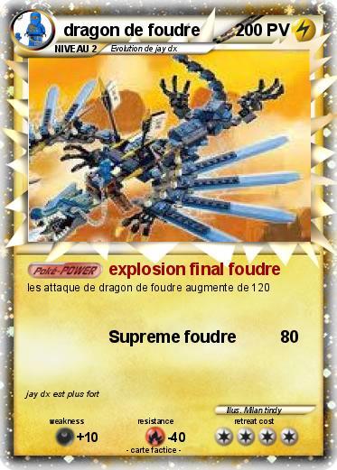 Pok mon dragon de foudre 12 12 explosion final foudre - Sayen legendaire ...