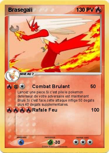 Pok mon brasegali 26 26 combat brulant ma carte pok mon - Coloriage pokemon brasegali ...