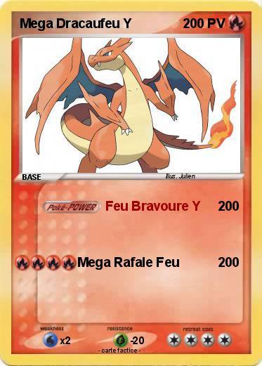 Pokemon Mega Dracaufeu Y 23