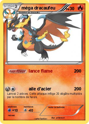 Pokemon Mega Dracaufeu 382