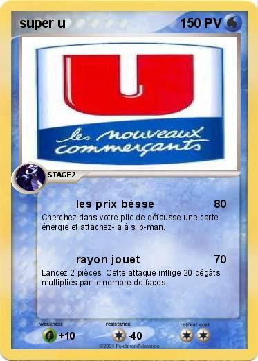 tout neuf 9f17e f8071 Pokemon super u