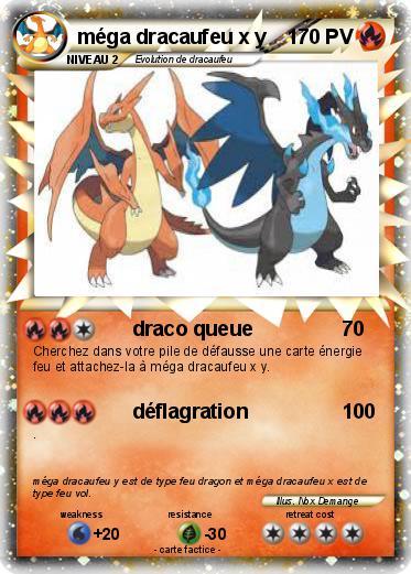 Pokemon Mega Dracaufeu X Y 1